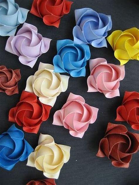 Origami Kawasaki Pdf - gorgeous kawasaki origami roses tutorial http www