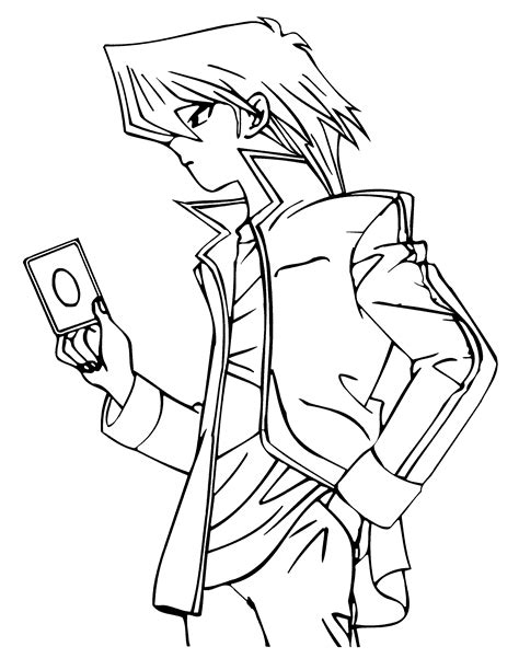 Coloring Page Yu Gi Oh by Coloring Pages Yu Gi Oh Animated Images Gifs Pictures