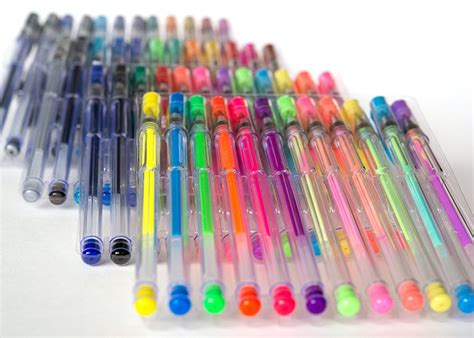 colored gel pens gel pen set glitter gel pens gel pens for coloring
