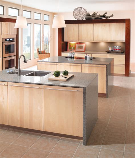 slab kitchen cabinets kraftmaid durham cherry cinnamon kitchen cabinets quicua