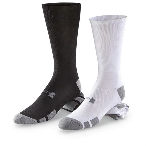 armour resistor crew socks 6 pairs 621651 socks at sportsman s guide