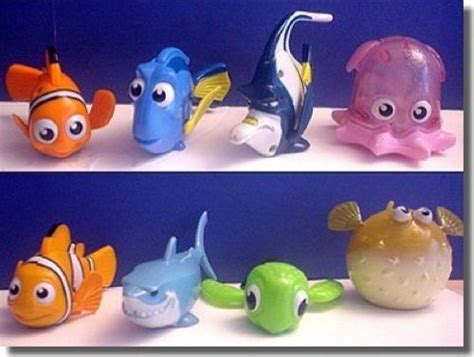 Set Diseny Kid Tosca Salem Fanta lot of 8 new mcdonalds finding nemo toys complete set nip