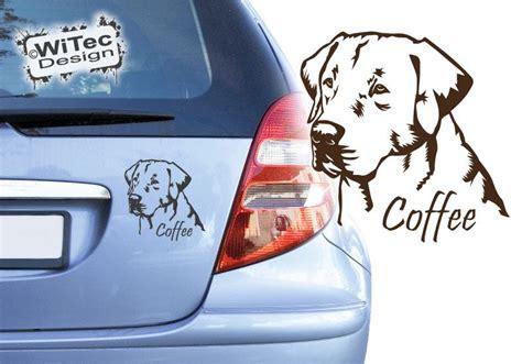 Auto Aufkleber Labrador by Hundeaufkleber Labrador Wunschname Autoaufkleber Hunde