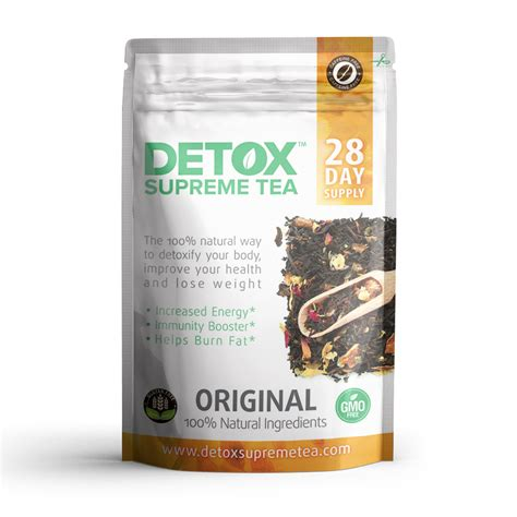 Best Detox Tea With Cafeen by Caffeine Free Detox Tea 28 Days Weight Loss Tea