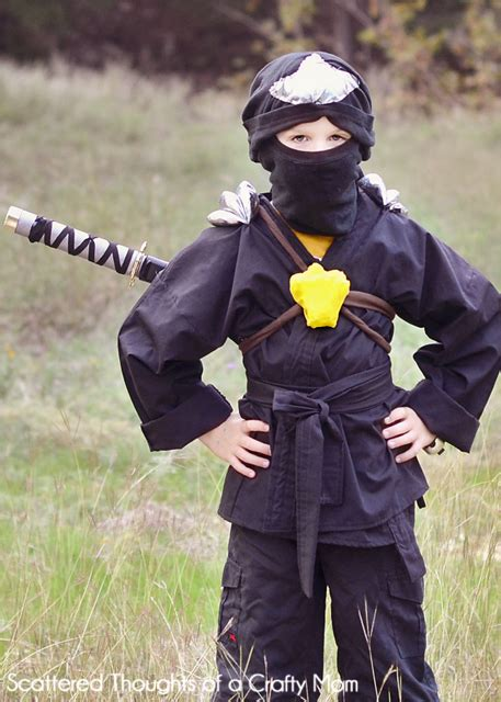pattern for a ninja costume ninjago ninja costume for halloween scattered thoughts
