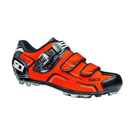 sidi mtb shoes sidi s buvel mtb shoes orange fluo black 44 ebay