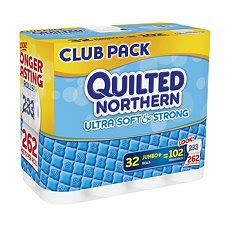 Quilted Northern Ultra Plush 30 Jumbo Rolls by Quilted Northern Soft Stronge Bath Tissue 32 Jumbo Rolls