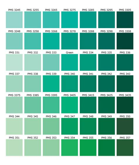 green color shades free coloring pages