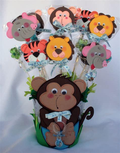 monkey baby shower centerpieces monkey centerpiece metal baby shower baby boy