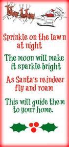 Magic reindeer food with free poem printable love play learn