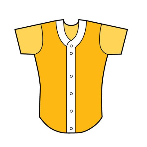 Clip Art Baseball Outfit Clipart Clipart Suggest Baseball Jersey Vector Template Free