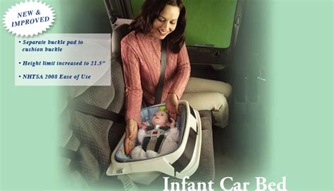 infant car bed preemie car seat angel guard premature infant baby bed