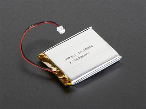 Battery Li Polymer 3 7v 900mah 3 7v lithium ion polymer battery 2500 mah