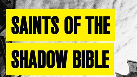 saints of the shadow the omnivore 187 saints of the shadow bible by ian rankin