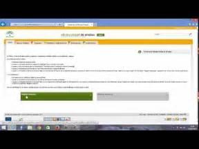 oficina virtual de empleo andaluz servicio andaluz de empleo ok youtube