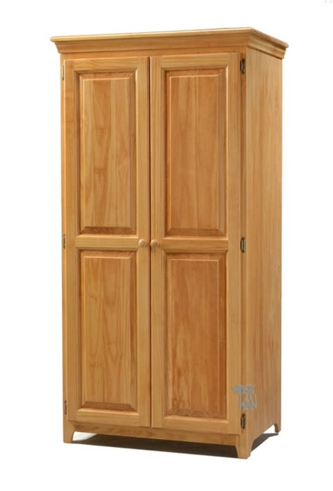 archbold bedroom solid pine 2 door wardrobe honey archbold