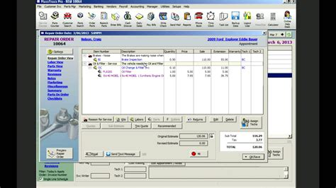 Shop Managers by Auto Shop Management Software Maxxtraxx Demo