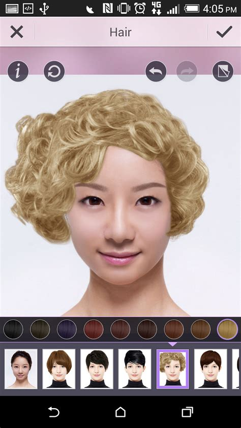 youcam hairstyles create play be fearless try out a new hairstyle with