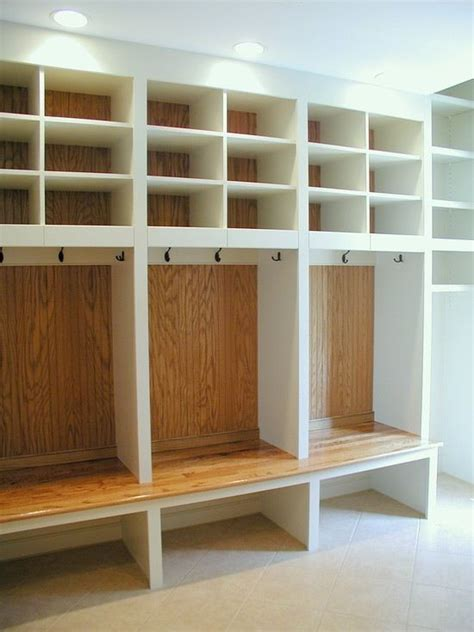 storage ideas for coats and shoes garage coat and boot storage likely overkill but pretty