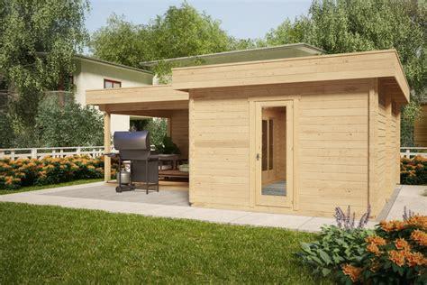 veranda 18m2 corner summer house with large veranda hansa a 18m2 44mm