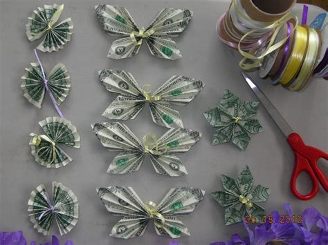 Origami Butterfly Money - pin by jari dawson on money maker