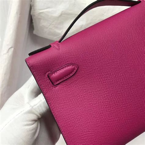 Togo Mini 22cm fashion hermes l3 purple epsom calf minikelly