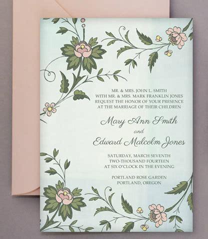 wedding diy: free printable invitations & rsvp | bespoke