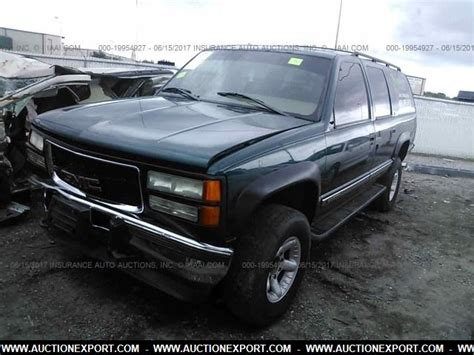 car owners manuals for sale 1996 gmc suburban 1500 engine control used 1996 gmc suburban k1500 car for sale at auctionexport