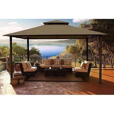 11x14 soft top gazebo outdoor patio pergola yard sun