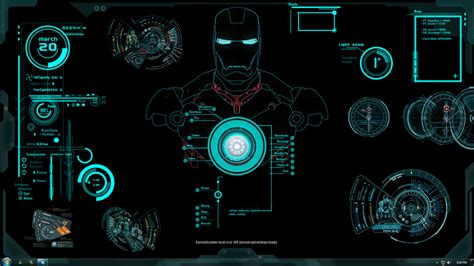 jarvis animated wallpaper for mac iron man jarvis theme by xhini on deviantart geometric
