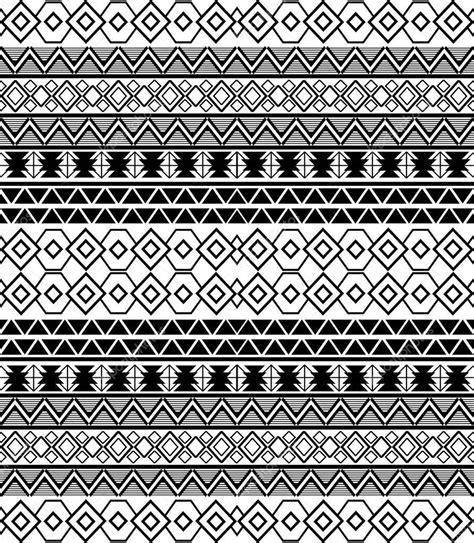 tribal ethnic pattern abstract tribal ethnic pattern stock vector