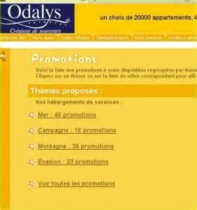les promotion d odalys pour les vacances de printemps les promotion d odalys pour les vacances de printemps