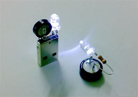simple capacitor circuit   led