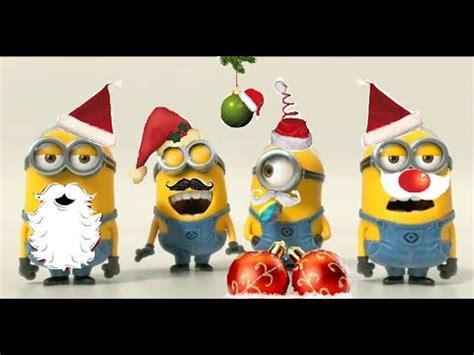 minions  christmas youtube