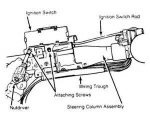 1987 chevy truck ignition switch location electrical