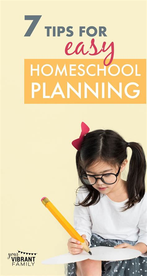 7 Tips On How To Be A House Guest by 7 Tips For Easy Homeschool Planning Your Vibrant Family