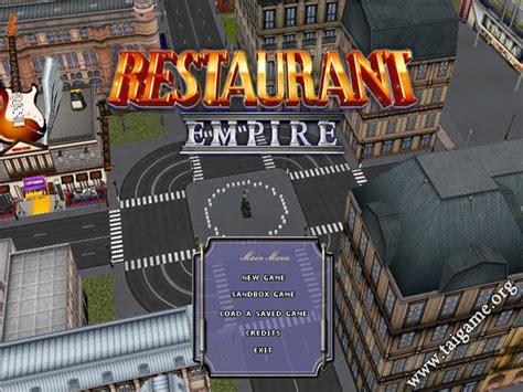 family restaurant full version free download game restaurant empire 1 game free download full version for pc
