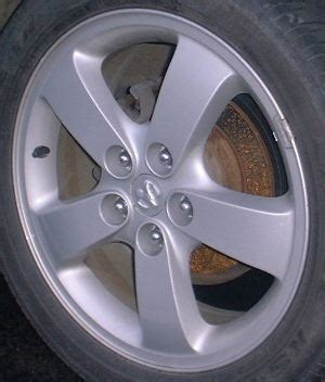 h 2206 dodge stratus coupe 17x6.5 fingerlike 5 spoke