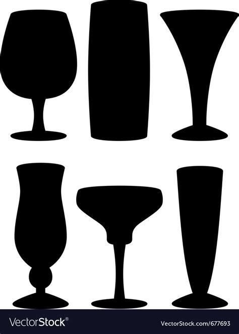 cocktail silhouette margarita silhouette vector pixshark com images