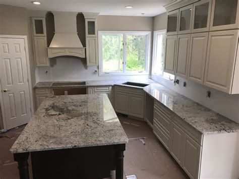 white kitchen cabinets with granite countertops photos white ice granite countertops remutex com