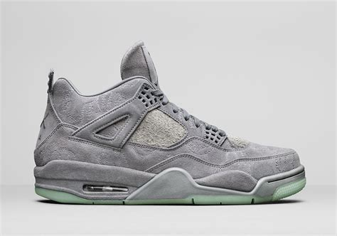 Air 4 Cool Grey Release Date by Kaws X Air 4 Quot Cool Grey Quot Release Date Justfreshkicks
