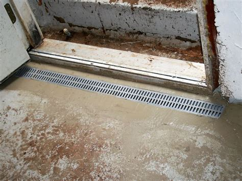 basement waterproofing rockford il grated drainage pipe system in milwaukee kenosha rockford il wisconsin illinois