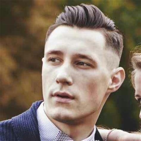 boston fade haircut mens low pompadour fade hair inspo pinterest