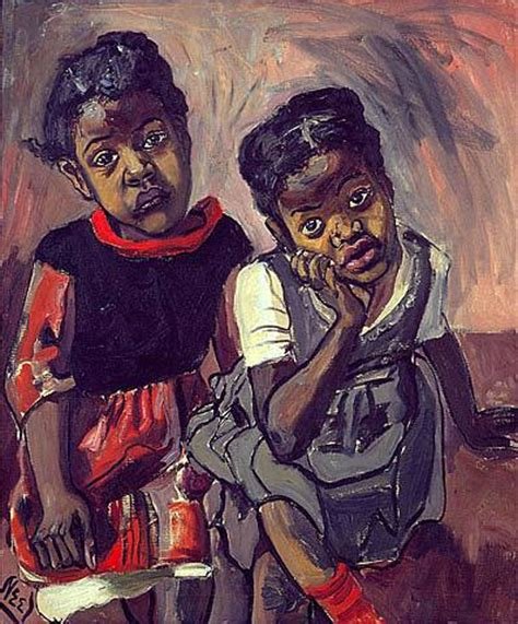 Painted Reference Alice Neel