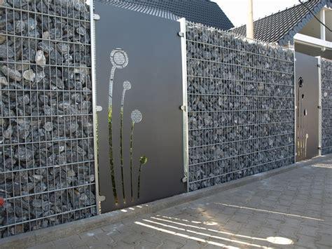 sichtschutz für doppelstabzaun dekor zaun gabionen