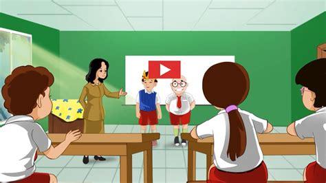 film kartun pendidikan pemilihan ketua kelas baru