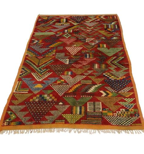 boho rugs for sale boho chic berber moroccan rug with modern tribal style for sale at 1stdibs