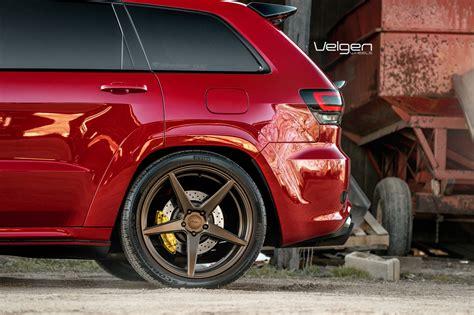 bronze wheels jeep jeep srt8 velgen wheels classic5 bronze 22x10 5 all