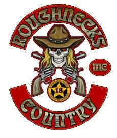 club colors roughnecks mc