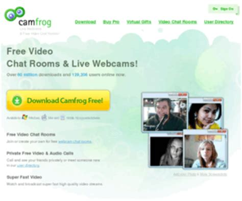 Live Chat Room 7 by Camfrog Camfrog Chat Rooms Live Webcams